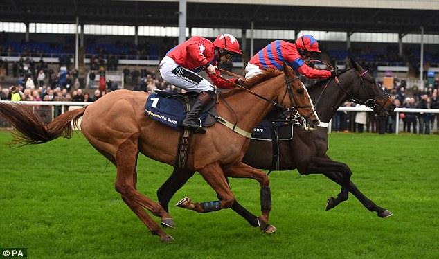 Sprinter Sacre ridden by jockey Nico de Boinville