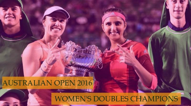 Martina Hingis & Sania Mirza  Australian Open 2016