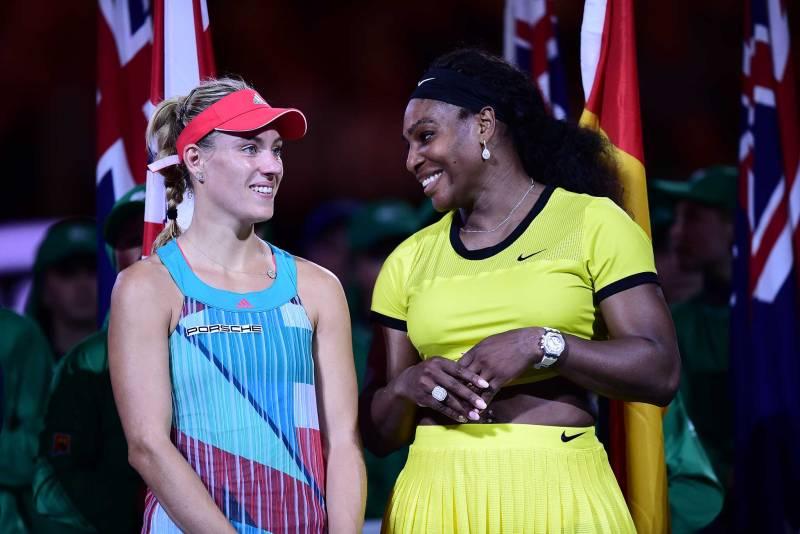 Serena Shocked by Angelique Kerber