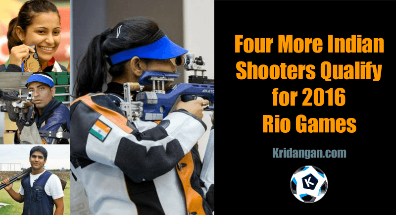 Indian Shooters Qualify