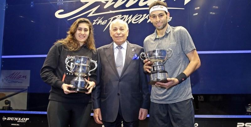 Elshorbagy and Sherbini  2016 Allam British Open Squash