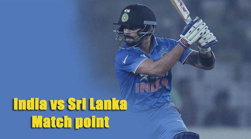 India vs Sri Lanka match points