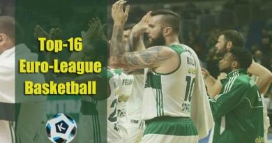 Top16 Euro-League Basketball