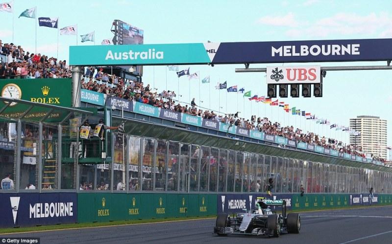 Wins Australian GP 2016