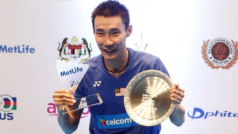 Lee Chong Wei and Ratchanok Intanon Score Dazzling Wins in 2016 Malaysia Open Finals