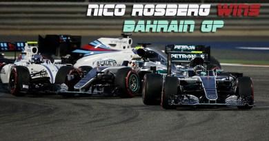 Nico Rosberg Wins Bahrain GP
