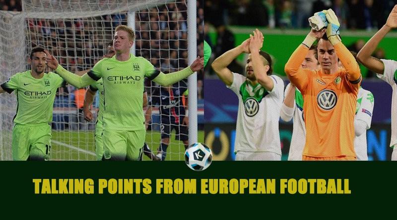 Talking Points from European football