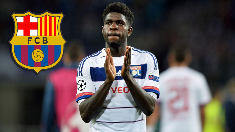 Barcelona transfer news: Samuel Umtiti would sign a five-year contract with Barcelona FC