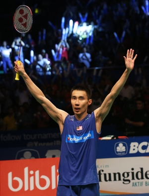 New Champions of 2016 BCA Indonesia Open lee