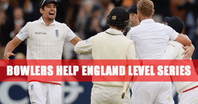 Bowlers help England level series