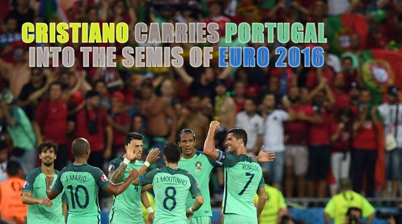Cristiano Carries Portugal 2016