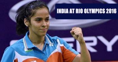 India at Rio Olympics 2016