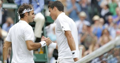 Raonic Stops Federer from Reaching the Wimbledon Final Sets up Summit Clash with Murray
