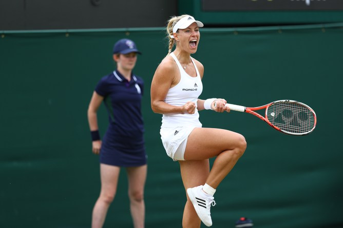 AELTC/Eddie Keogh . 04 July 2016 Angelique Kerber