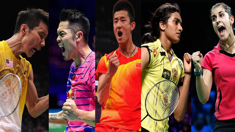 Big Three of Badminton Vie for Men's Singles Olympic Gold at 2016 Rio Games