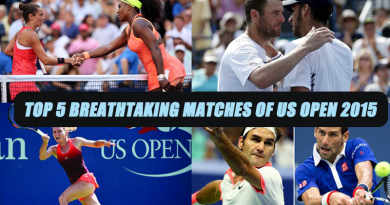 Breathtaking matches of US Open