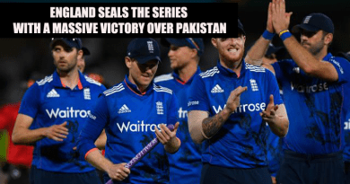 England seals the series with a massive victory over Pakistan