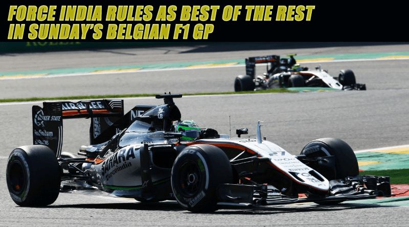 Force India Rules as Best of the Rest