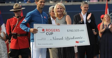 Rogers Cup Victory