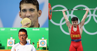 Six World and Eleven Olympic Records Broken in First Two Days of 2016 Rio Olympic Games