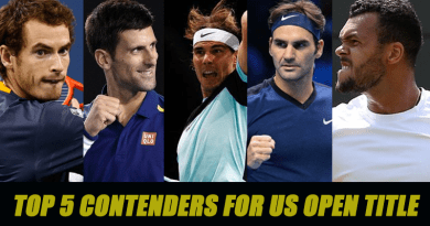 Top 5 Contenders for US Open title 2016