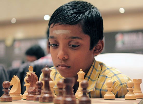 chess kid Praggnanandhaa  2016
