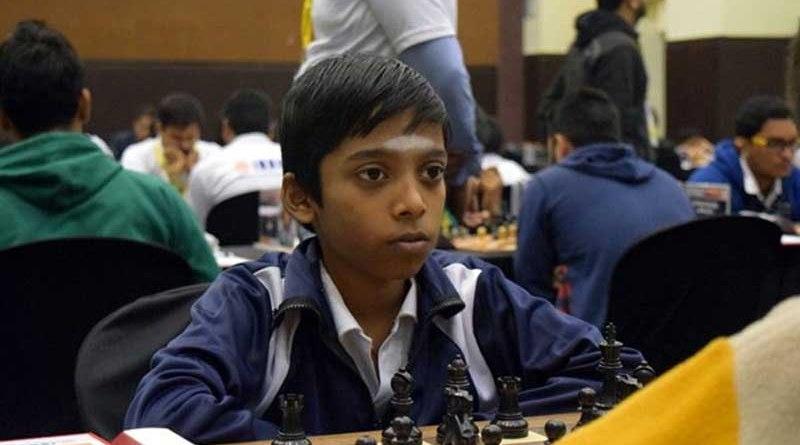 chess kid Praggnanandhaa