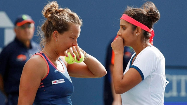 Sania Mirza  doubles partner