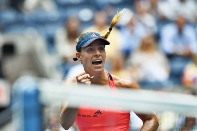Angelique Kerber defeated last