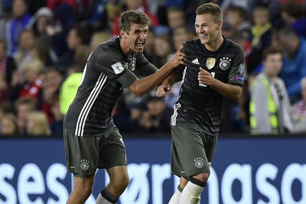 World Champions Germany vs norway