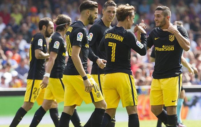 Atletico Madrid  Laliga week game