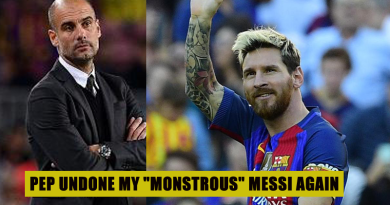Pep undone Messi again