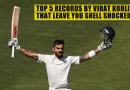 Top 5 records by Virat Kohli that leave you Shell Shocked