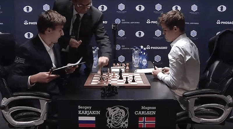 World Chess Championship Battle