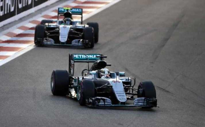 Nico Rosberg Despite Hamilton Winning the Abu Dhabi GP