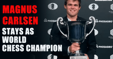 Carlsen Stays as World Chess Champion with Emphatic Victory over Karjakin in Rapids