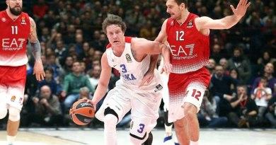 Euro-League Basketball CSKA 2016