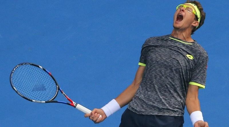 Sensational Istomin Shocks Djokovic in 2nd Round on Fourth Day of 2017 Australian Open