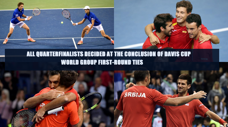 Davis Cup World Group First-Round Ties