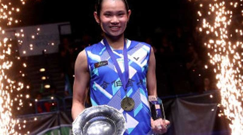 Tai Tzu Ying All England Badminton champion
