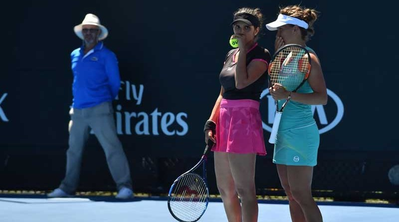 Sania Mirza- Barbora Strycova Indian Wells