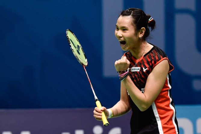 Top seed Tai Tzu made a sensational comeback