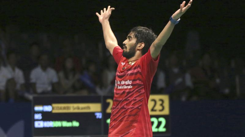 Kidambi Srikanth storms into the finals of Australian Open