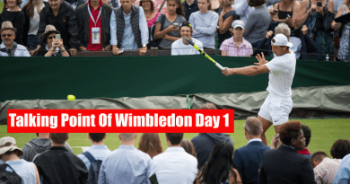 Talking Point Of Wimbledon Day 1