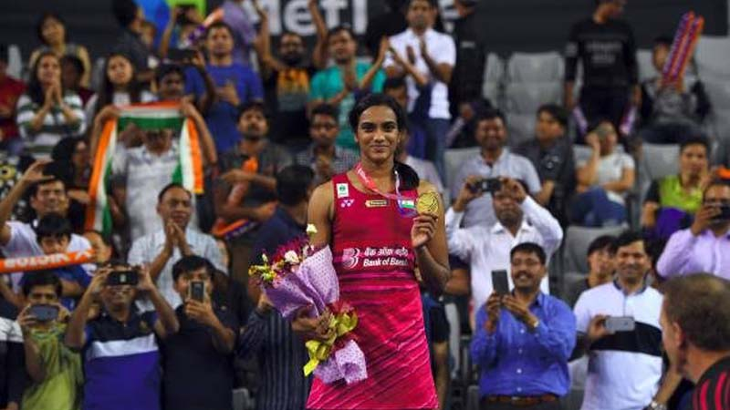 Golden Girl Sindhu Scripts History in Korea, Defeats Okuhara