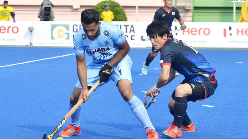 Dominant India Start Off With a Win in Hockey Asia Cup 2017