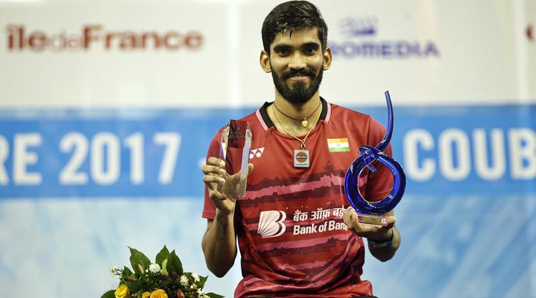 Super Srikanth Wins Two Titles in Successive Weeks, Yet Again