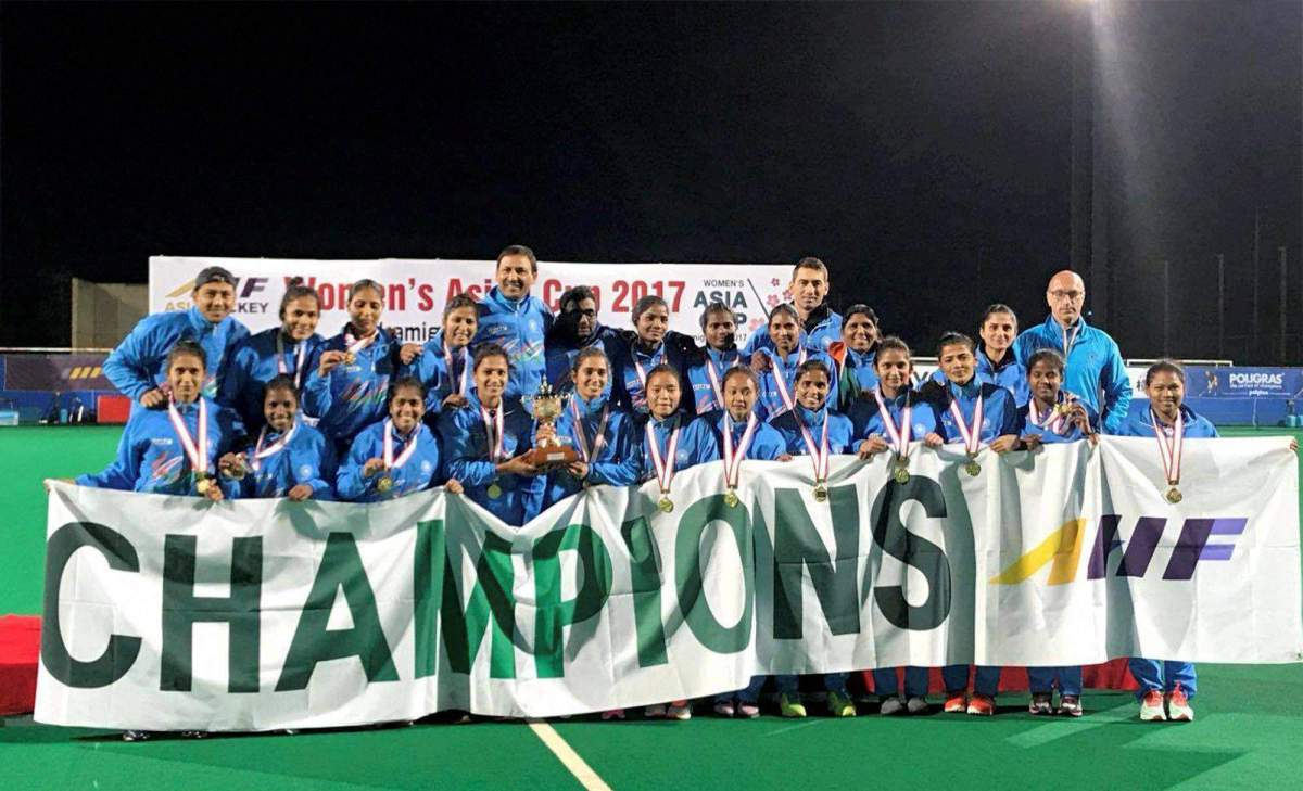 Indian Women's Hockey Team Conquer Asia Cup