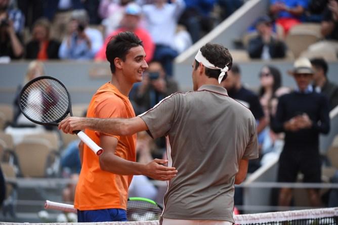 French Open 2019-Roger Federer
