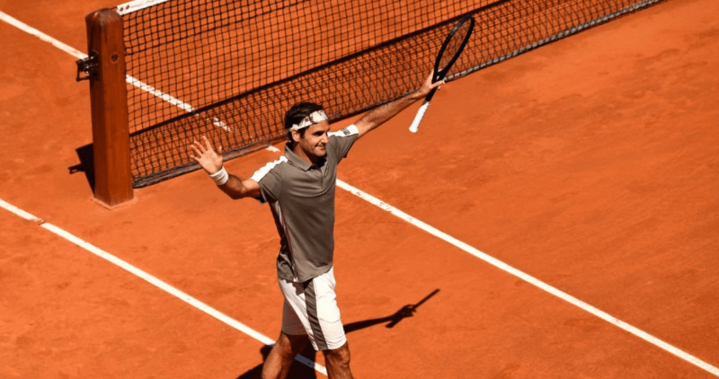 roger federe french open quarter finals